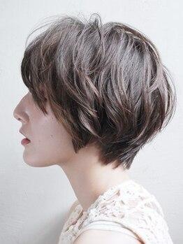 シンヤ ヘアーズ アニマ 泉大津(SHINYA HAIRS anima)の写真/【泉大津】オリジナルCutで、ダメージケア/骨格矯正/小顔効果/再現性/毛束感/立体感まで思いのままに★