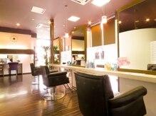 美容室 璃宮 フレスポ春日浦店の雰囲気(居心地の良い落ち着いた空間)