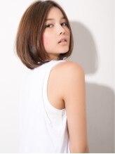 モッズ ヘア 池袋店(mod's hair)ナチュラルボブ【ANGELE 2013-14 A/W】