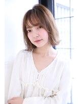 ボヌール 西梅田店(Bonheur)【女性stylist杉崎】オトナかわいい*ボブ