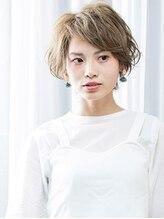 トップヘアー 大元店(TOP HAIR)【トップヘアー大元店】 透きとおる大人めマッシュショート
