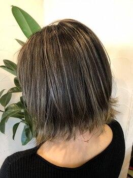 ウシワカマルガーデン(ushiwakamaru Garden)の写真/最旬デザインから人気のハイライト・グラデーションならお任せください☆。・+透明感溢れるヘアになれる♪