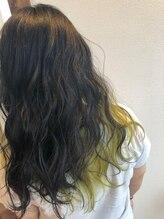 ヘアー リラクゼーション アンヴィ(Hair Relaxation anvi)インナーカラー