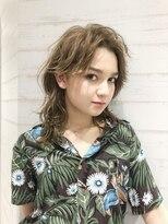 ヘアーサロン リアン 熊谷2号店(hair salon Rien)#ハイウルフ#リゾートスタイル♪