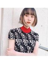 リコ(riko)【riko立野】ボブが可愛い☆デザインインナーカラー