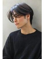 【ROSE/江坂】韓国マッシュ/黒髪マッシュ/ センターパート