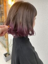【Ambos】ピンクパープルグラデーション