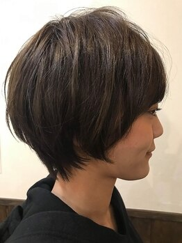 ヘア キィー(hair key)の写真/【下ノ橋すぐ】再現性とモチを追求したカット技術で、乾かすだけでキマる大人hairに!