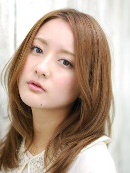 ヘアメイク アンリ 宮崎台店の写真/◆30代からのグレイカラー◆明るい色味ながら、白髪はきっちり染まる優れモノ!大人のオシャレも楽しんで♪