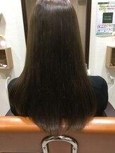 ヘアーサロングランデ 高円寺(hair salon Grande)モノトーンブルーアッシュ