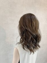 ストーリーヘアアンドケア (Story hair&care)ゆるふわパーマ×オリーブベージュ
