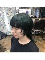 ロコマーケット 下北沢店(hair meke Deco.Tokyo)ヘムラインカラー ダブルカラー