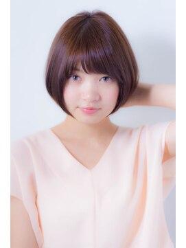 ミンクス 銀座店(MINX)【MINX 蛭田】大人可愛い★ひし形シルエットのショートボブ