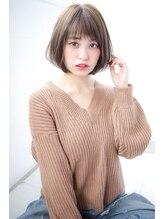 ストーリー(story)【Story】大人かわいいひし形シルエットショートボブ