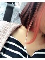 アミューズ(amu se)オレンジツートーンカラー