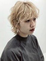 シキナ(sikina)【ナカムラ_design】ショートウルフ マッシュショート