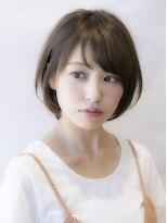 「THE C 海老名」大人女子の暗髪、艶髪ショート・小顔になる前髪