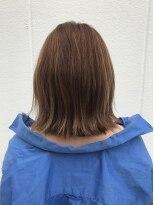 ポッシュ 原宿店(HAIR&MAKE POSH)アッシュブラウン×ベージュハイライト