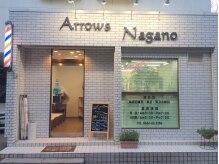 アローズナガノ (Arrows Nagano)の雰囲気(店頭にサインポールが回ってますが、ユニセックスサロンです♪)