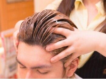 スリックの写真/【新規/カット+《ヘッドスパorスキャルプスパ》 ¥4800】髪と頭皮をケアして健康的で美しい素髪に!