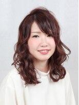ボンズ ヘアー 港店(Bonds Hair)BONDS キャプテン☆ゆるピュアガーリーミディスタイル☆