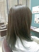 ヘアースタジオココルッチ(hair studio CoCo-Rucchi)☆大人カラー☆オリーブカラー