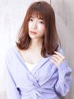 ディシェル(DISHEL)【DISHEL】レイヤーボブ 艶髪ピンクブラウン
