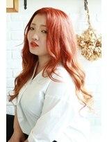 リリィ ヘアデザイン(LiLy hair design)LiLyhairdesign オレンジグラデーションヘア