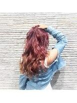 ビス リアン 川口店(Vis lien)大人可愛い/カラー/ケアブリーチ/ピンク/髪質改善/TOKIO/小顔/