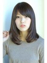 ギフト ヘアー サロン(gift hair salon)つやつや重めのセミミディアム (熊本・通町筋・上通り)
