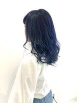アマンドール(AMAN D'OR)アマンドール齊藤☆色落ち綺麗なネイビーブルー