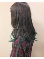 裾カラー*グリーン