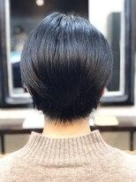 エトネ ヘアーサロン 仙台駅前(eTONe hair salon)軽さを感じる襟足と後頭部の丸み