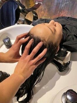 アクセル エルヴェ 鹿沼店(AXCEL E'LEVER)の写真/[鹿沼] ヘッドスパ専門店の技術習得スタッフ在籍!!完全個室でのメニューも☆極上ヘッドスパで日常に癒しを