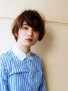 ヘアースペース カーマ(hair space ka ma)の写真/持ちや再現性が良いのは当たり前!顔周りの肌の見せ方、髪の長さ・流れ方で印象が大きく変わります♪