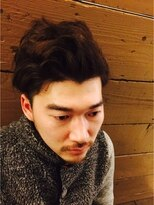 ヘアーズ 甲南山手店(hairs)アップバング/2block/very shyort/darkcolor