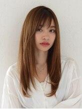 アース 水沢店(HAIR&MAKE EARTH)柔らか質感のピュアストレート