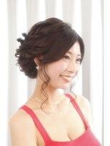 ヘアセットアンドメイクアップ シュシュ(Hair set&Make up chouchou)華やかフルアップスタイル★