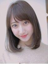 アグ ヘアー リノ 大名店(Agu hair reno)柔らかカラーで小顔ワンカールボブディ