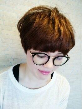 ヘアーアンドリラクゼーション ラシック(Hair&Relaxation LA.CHIC)の写真/スタイルの基本はカット☆髪の毛流れ・髪質・顔のラインなどトータルを見て創りこまないスタイルを実現♪