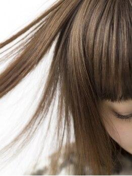 アクションスタイル 南浦和店(Action Style)の写真/縮毛矯正と同日OK☆ダメージレスにこだわるからこそ、頭皮にも髪にも優しい薬剤しか使用しない徹底っぷり!!