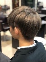 ヘアーメイク ララ(HAIR MAKE LALA)刈り上げ 2ブロック メンボブ