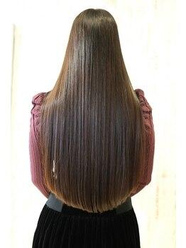 リッシュグランデ(riche GRANDE by CHANDEUR)の写真/【髪質改善】《乾燥対策に!》ダメージを最小限に抑えながら今までにない柔らかさをあなたに-