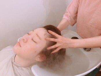アビーヘアー 住吉店(abie hair)の写真/【口コミ大好評!】選べるアロマのAVEDAオーガニックヘッドスパ★至福のリラックスTIMEをお過ごしください♪