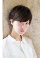 【+~ing deux】大人かわいい 厚めバング ショート☆
