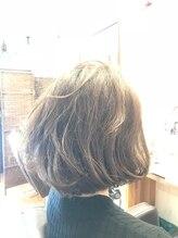 ユーフォーヘアー(U for hair)切りっぱなしボブ