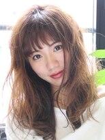 純粋に可愛いを♪前髪&ふわふわロングスタイル【archive】
