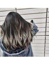 ヘアーフィックス リュウアジア 越谷店(hair fix RYU Asia)【Ryuasia越谷店】スモーキーアッシュ