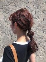 ヘアメイク アプト コンビネーション(HAIR MAKE apt combination)マーメイドカラー