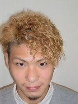 美容室 シュシュ(Chou-Chou)メンズにおすすめ☆個性的なワイルド系パーマスタイル☆